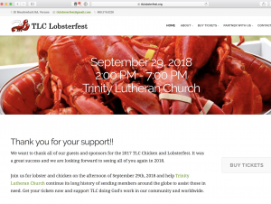 TLC Lobster and Chicken Fest